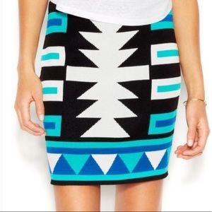 Rachel by Rachel Roy Bandeau Tribal Print Skirt